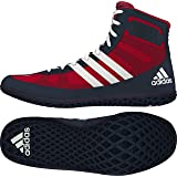 Adidas Mat Wizard 3 Wrestling Boots - Scarlet