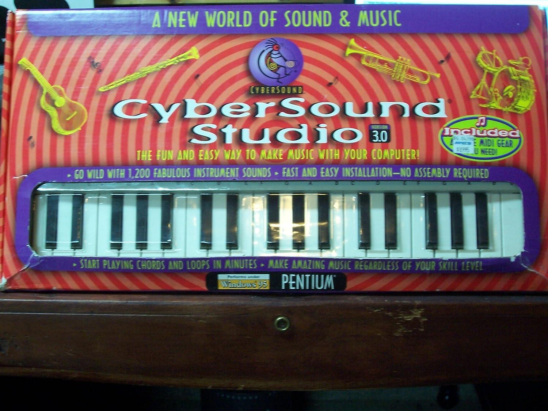 CyberSound Studio Music Maker 3 0!