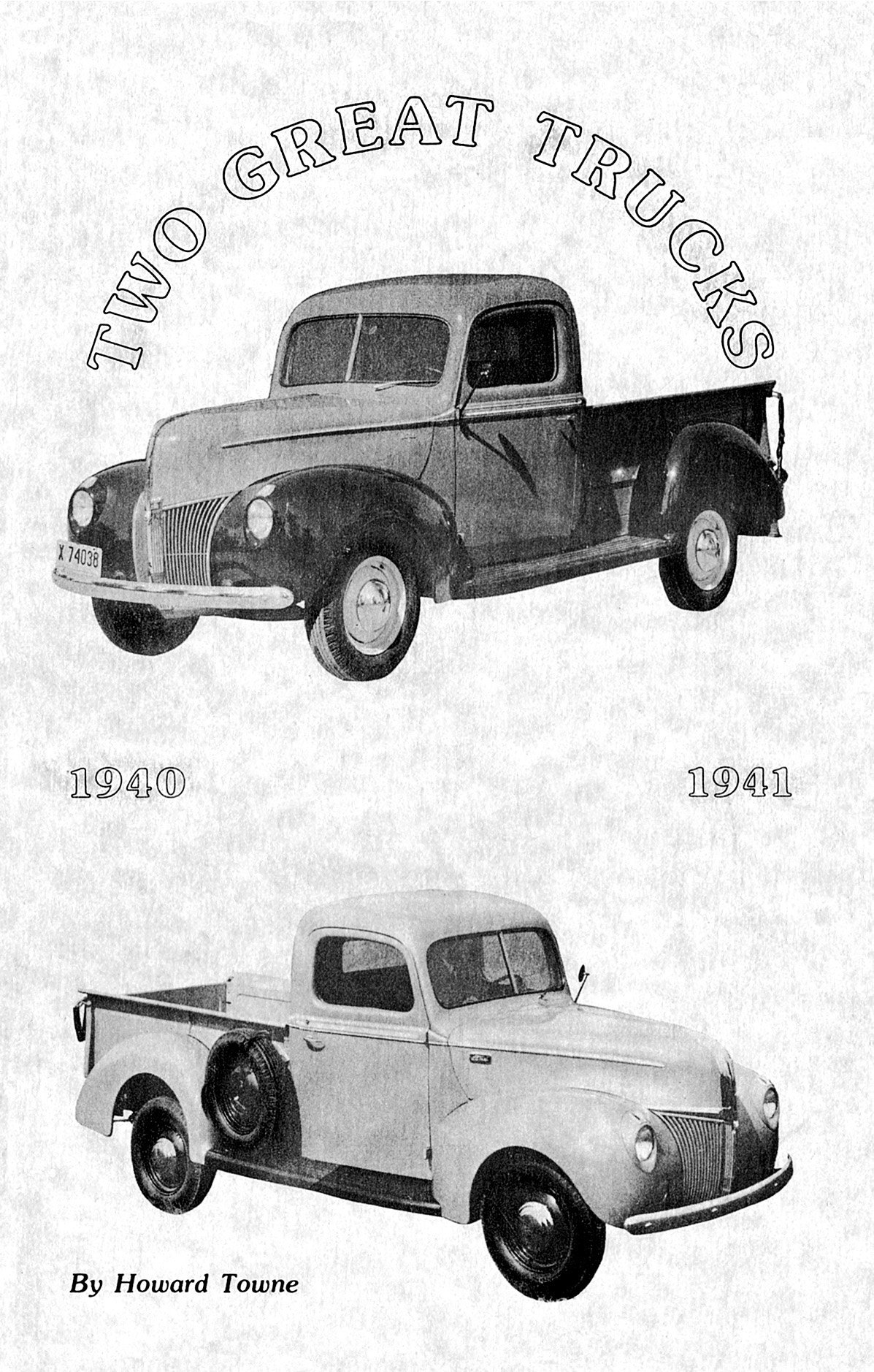 Download Two Great Trucks: 1940-1941 Ford Pickups ebook