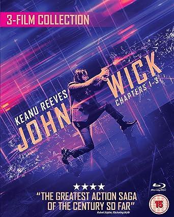 John Wick 1/2/3 Triple Boxset [Blu-ray] [2019]: Amazon co uk