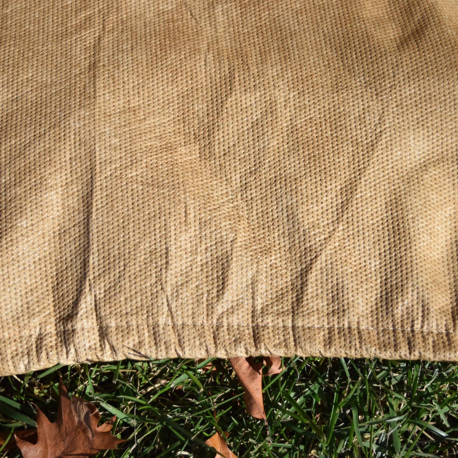 UV Resistant Budge P1W04SF1-2PK All-Seasons Patio Chair Cover 2-Pack Extra Large Tan Lightweight 2 Pack