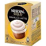 NESCAFE GOLD VANILLA Latte Instant Foaming Coffee Mix 18.5g (8 Sticks)