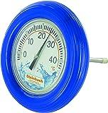 Steinbach 061320PF Thermometer Rundthermometer mit Schwimmring, blau