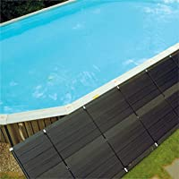 """SunHeater Pool Heating System Two 2€™ x 20€™ Panels €"""" Solar Heater for Inground and Aboveground Made of Durable Polypropylene, Raises Temperature, 6-10°F, S240U"""