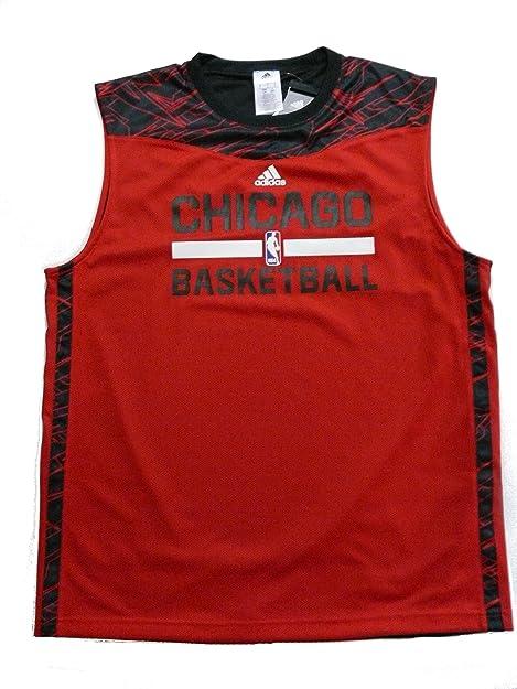adidas Camiseta de Baloncesto Camiseta Chicago Bulls NBA Talla L: Amazon.es: Zapatos y complementos
