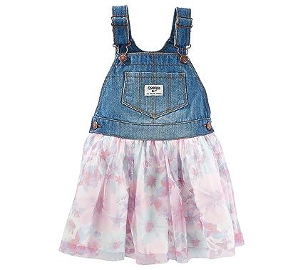 86c004836657 Amazon.com  OshKosh B Gosh Baby Girls  Tulle Print Jumper 6 Months ...