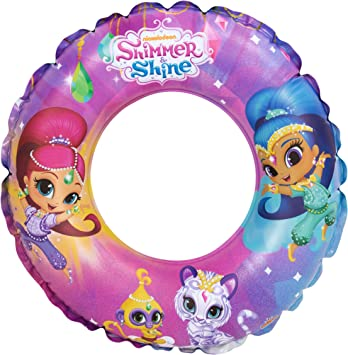 Shimmer and Shine-25250 Shimmer & Shine Flotador Hinchable, Multicolor (Saica 2654)