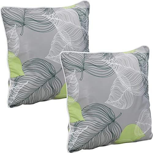 Sunnydaze Set of 2 Outdoor Decorative Throw Pillow