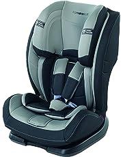 Foppapedretti Re-Klino Seggiolino Auto, Gruppo 1/2/3 (9-36kg), per Bambini da 3 fino a 12 Anni, Grigio