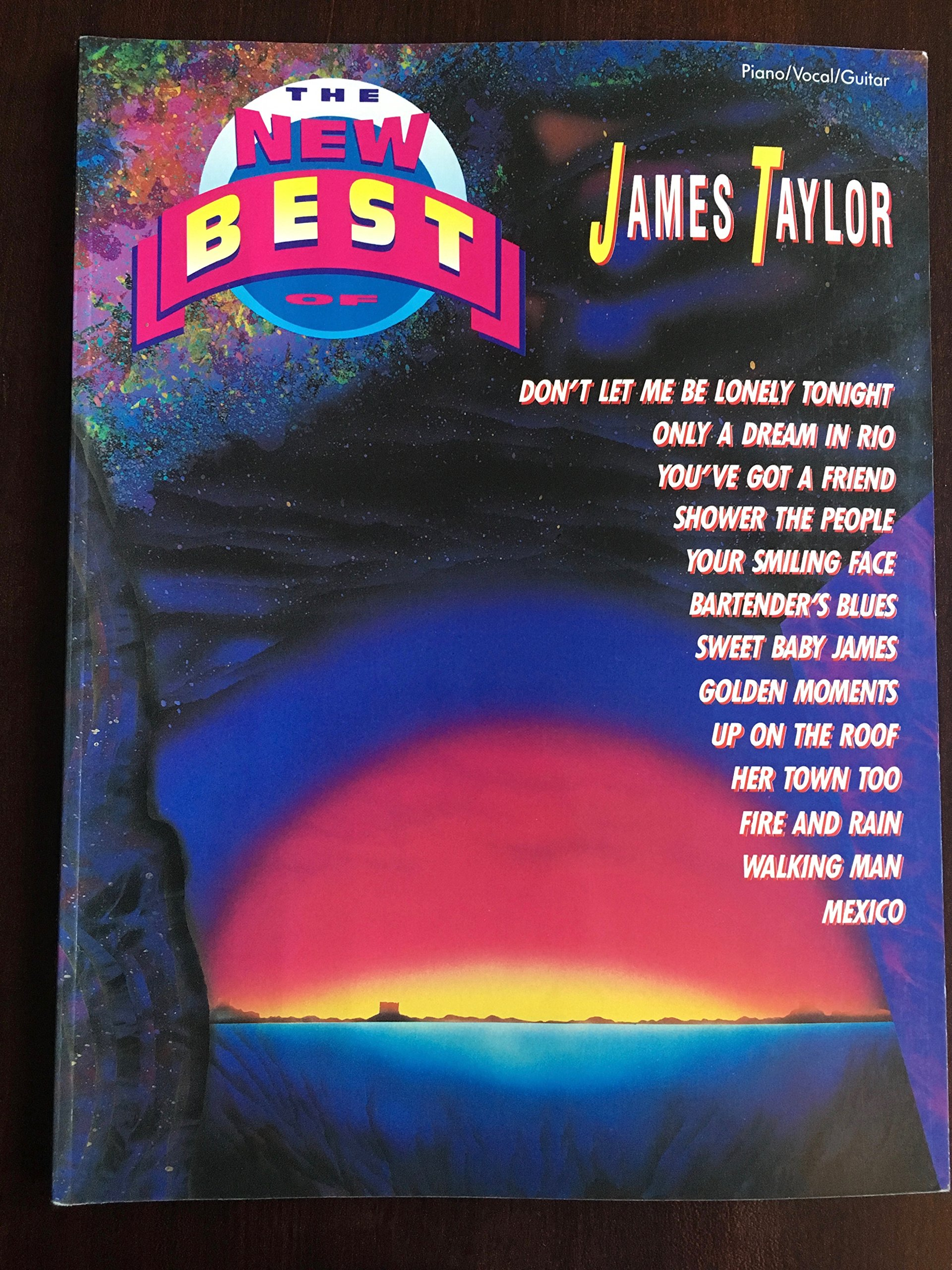 The New Best Of James Taylor Pianovocalguitar The New Best Of