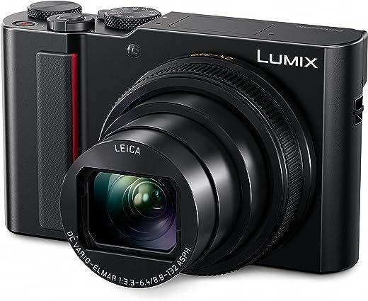 PANASONIC LUMIX ZS200 4K Digital Camera, DC-ZS200K, 20.1 Megapixel 1-Inch Sensor, 15X...