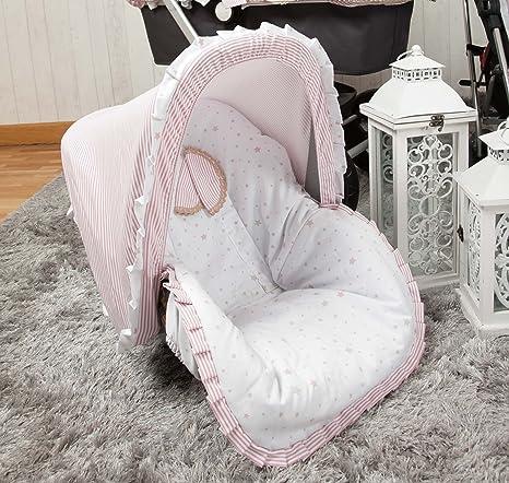 Babyline Sueños - Colchoneta para silla grupo 0, color rosa ...
