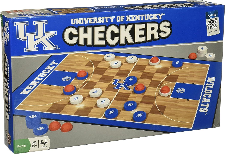 MasterPieces NCAA Kentucky Wildcats Checkers Board Game , 13