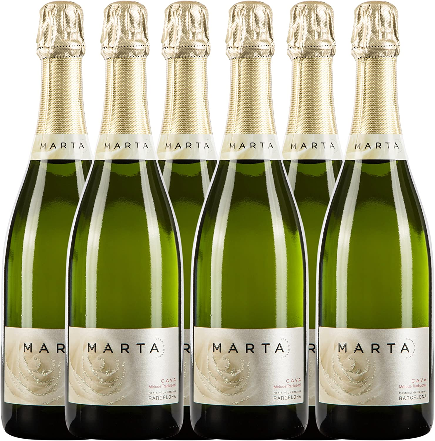 Sanders Selection Marta Canals Brut Vino - Paquete de 6 x 750 ml ...