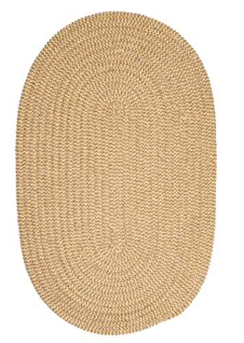 Softex Check Rug, 4 by 6-Feet, Pale Banana Check
