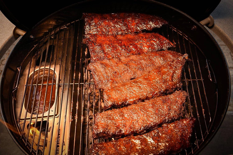 Grillrost.com Das Original Kugelsmoker f/ür /Ø 47er Kugelgrills /Ø 47cm Mach aus deinem Kugelgrill einen Smoker Low /& Slow BBQ wie vom Profi!
