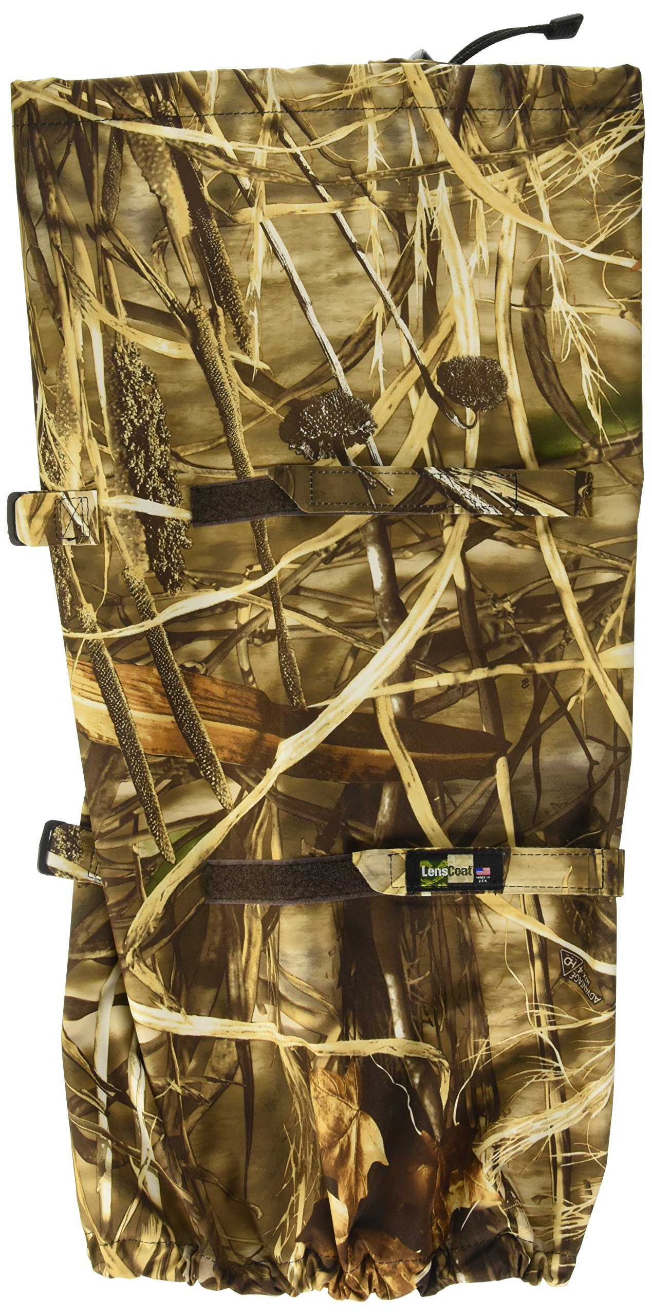 LensCoat RainCoat RS for Camera and Lens, Large Rain cover sleeve camouflage protection (Realtree Max4 HD) LCRSLM4 by LensCoat