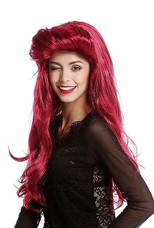 WIG ME UP ® - 91313-ZA13A/ZA67A Peluca Mujer Halloween Carnaval Larga vampiresa