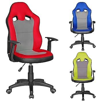 Bürostuhl Kinderstuhl finebuy samy racing kinder schreibtischstuhl für kinder ab 8
