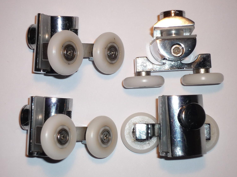 Conjunto de ducha regulable 4 rodillos AM45-4: Amazon.es: Bricolaje y herramientas