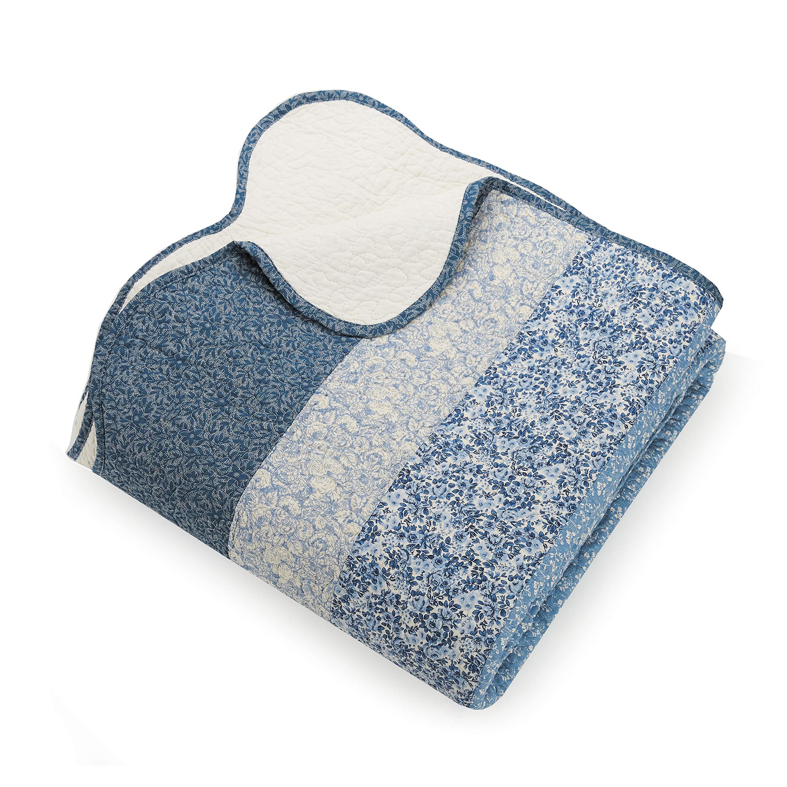 Modern Heirloom Collection Charlotte Bedspread, King, Blue by Modern Heirloom Collection (Image #3)