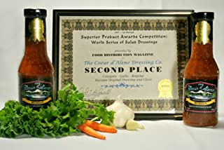 product image for The Coeur d'Alene Dressing Company - Award Winning Russian Dressing and Glaze, Two 12 oz Jars.