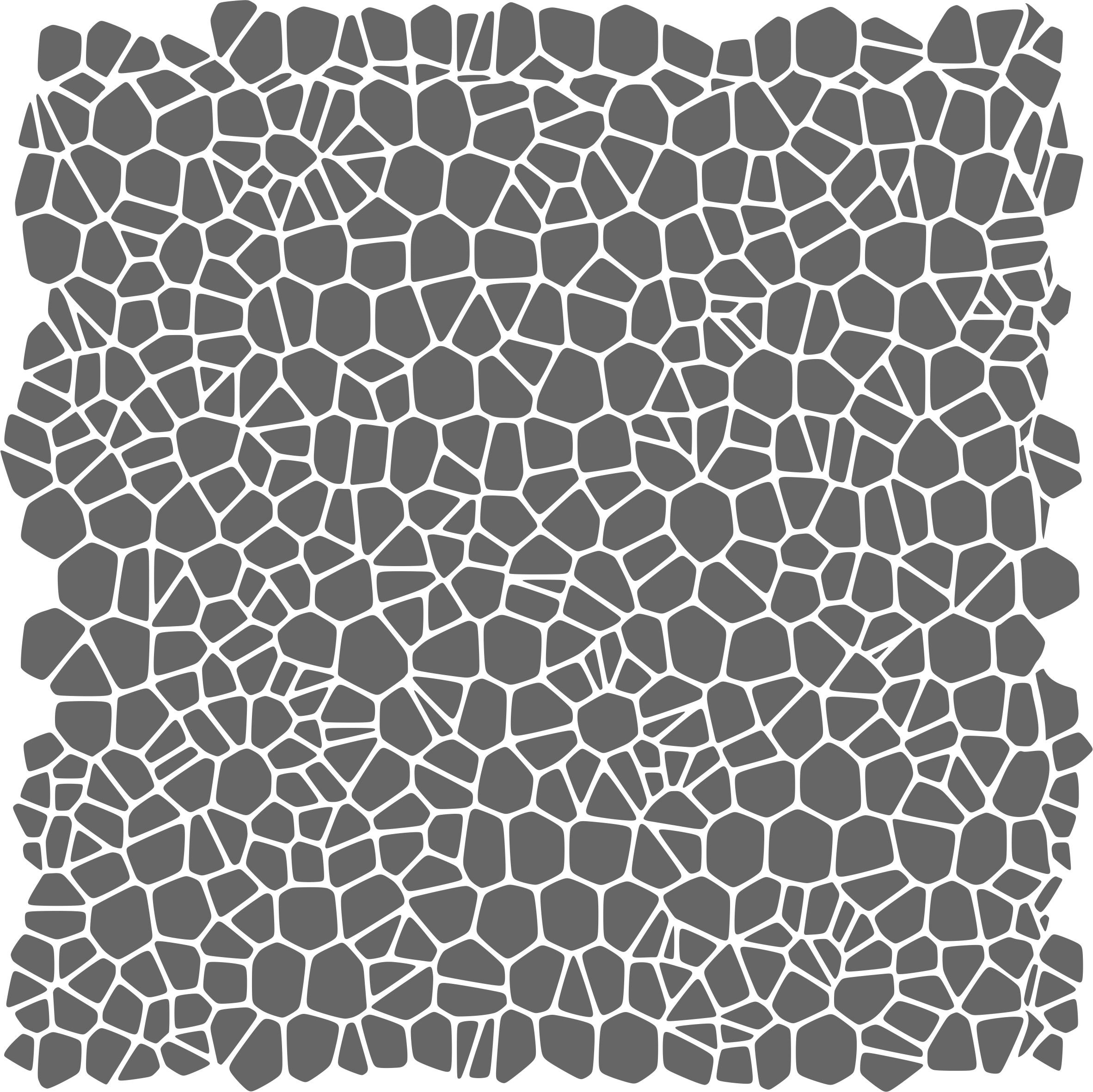 Crackle Pattern Stencil - (size 14''w x 14''h) Reusable Wall Stencils for Painting - Best Quality Template Allover Wallpaper ideas - Use on Walls, Floors, Fabrics, Glass, Wood, and More... by Stencils for Walls