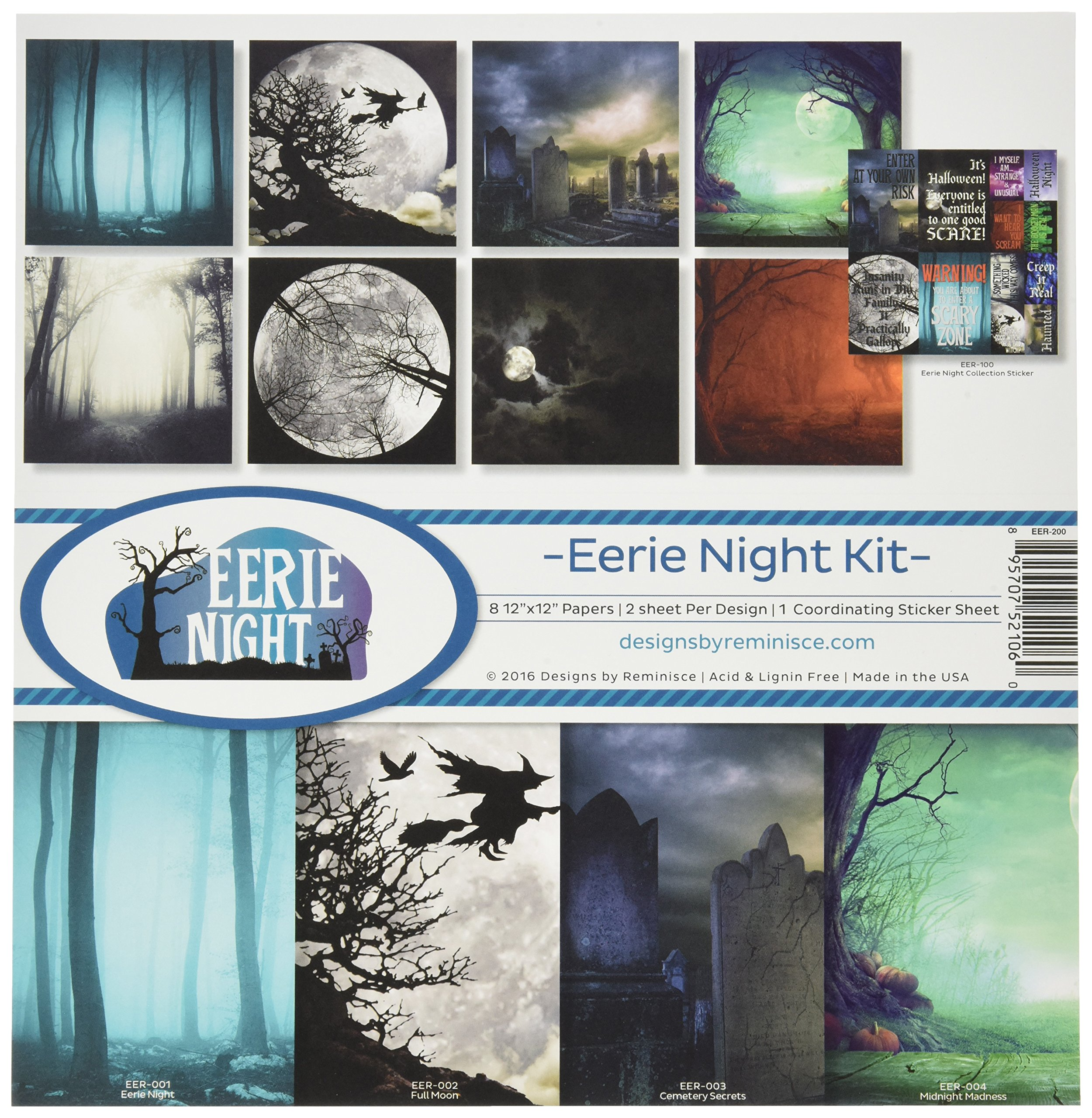 Reminisce Eerie Night Collection Kit by Reminisce