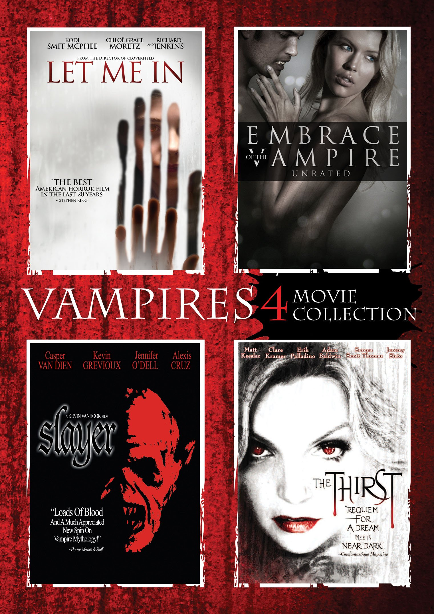 Vampires 4 Pack (Boxed Set, 4PC)