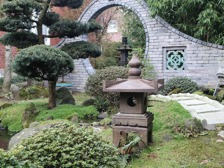 Yajutang S99 - Farol de Piedra para jardín, diseño de Pagoda: Amazon.es: Juguetes y juegos