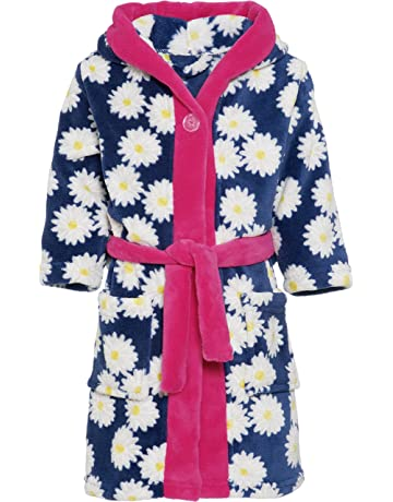 1c2ec27b9b Playshoes Girl s Fleece Morgenmantel Margeriten Dressing Gown