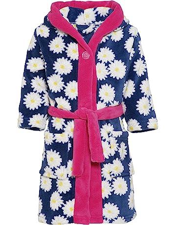 Playshoes Girl s Fleece Morgenmantel Margeriten Dressing Gown 8b079d4c8