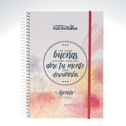 La mente es Maravillosa - Agenda Escolar 2017 - 2018: Amazon.es ...