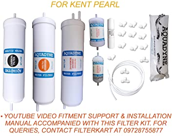 a52ef8e09cc Aquadyne RO 1 Year Service Kit for Kent Pearl: Amazon.in: Home & Kitchen