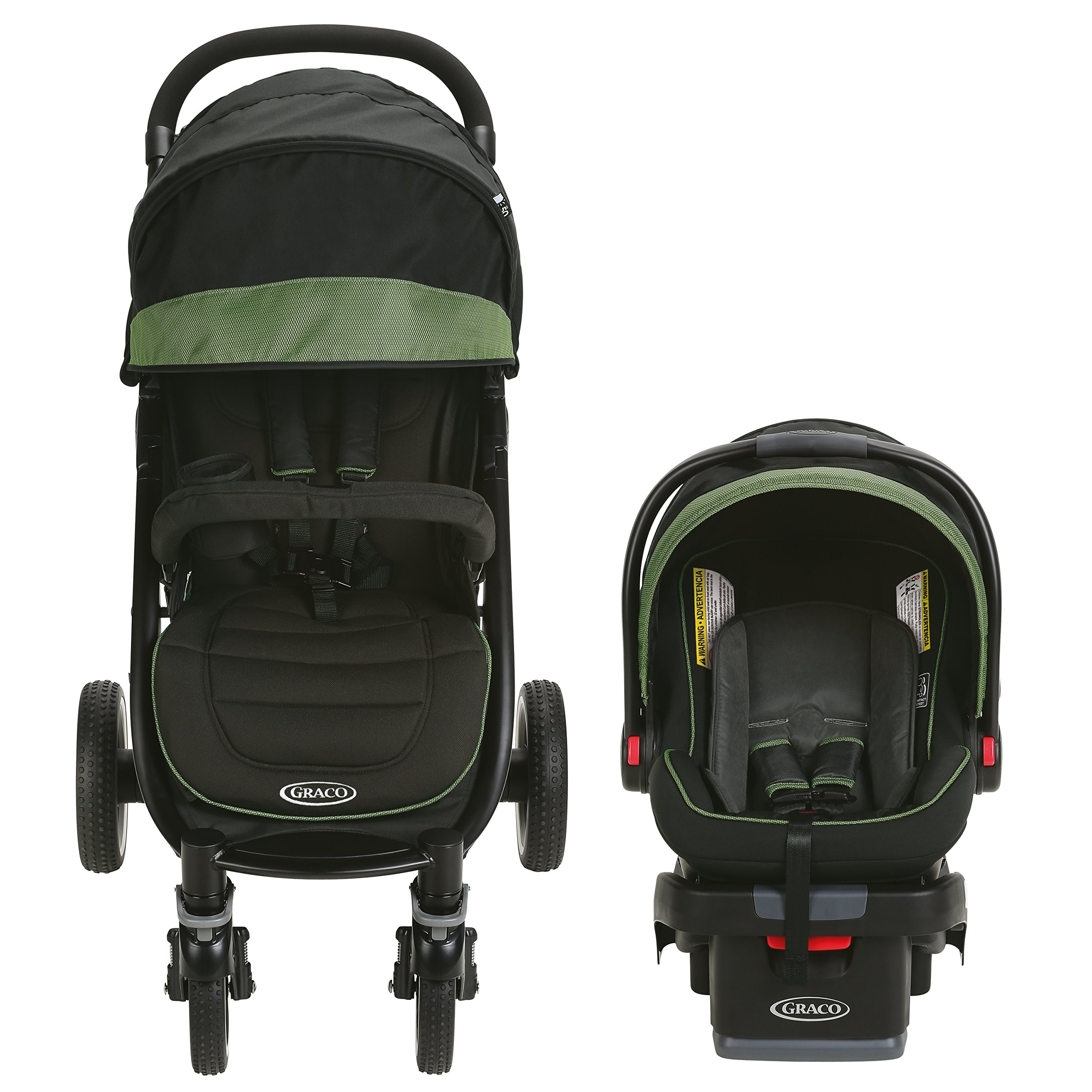 Graco Aire4 XT Travel System, Emory by Graco (Image #2)