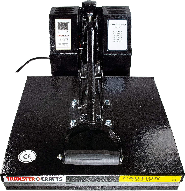 Renewed 15 x 15 Transfer Crafts T-Shirt Heat Press /& Digital Sublimation Machine