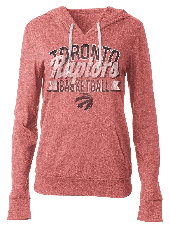 NBA(ナショナルバスケットボールアソシエーション) レディーストライブレンドジャージ プルオーバーフーディー ポーチポケット付き XL レッド   B01NAN4QYJ