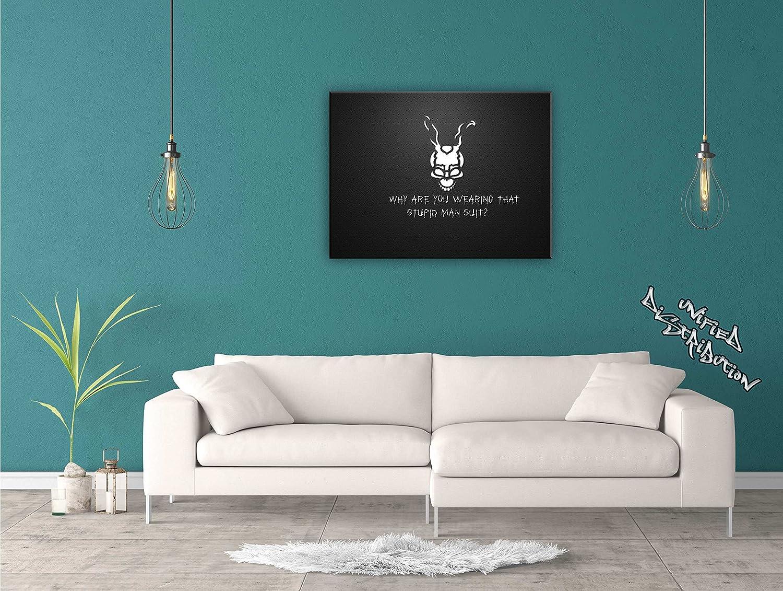 Unified Distribution Donni Donni Donni Darko Frank - 120x80 cm - Bilder & Kunstdrucke fertig auf Leinwand aufgespannt und in erstklassiger Druckqualität a8e573
