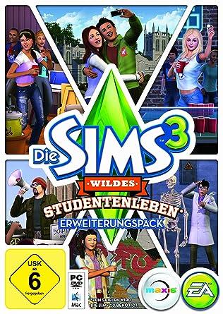 Die Sims 3 Wildes Studentenleben Pc Amazonde Games