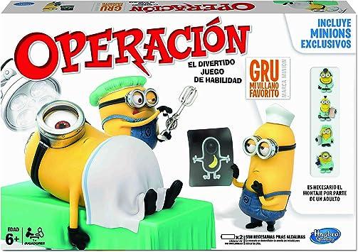 Hasbro Gaming - Operación GRU: Mi Villano Favorito (A2576): Amazon.es: Juguetes y juegos