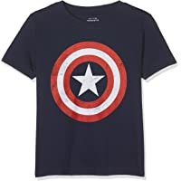 Marvel Boys' Captain America Retro T-Shirt