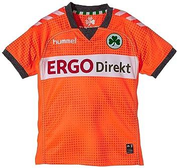 Hummel Furth Short Sleeve Third Jersey - Camiseta de fútbol para niño naranja Shocking orange Talla