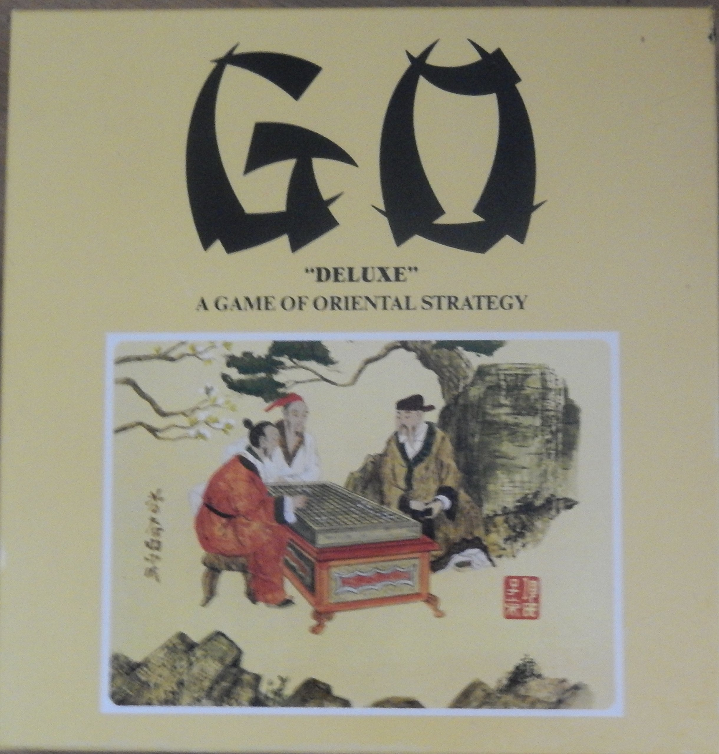 1982 The oriental game of ''Go''