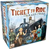 Ticket to Ride Rails & Sails Board Game | Family Board Game | Board Game for Adults and Family | Train Game | Ages 10+ | For