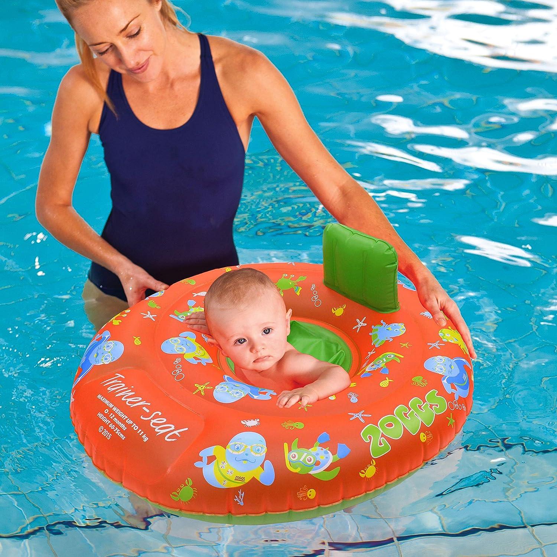 Baby Swim Seat Children/'s Swim ri Zoggs Zoggy Trainer Swim Seat 12-18 Months