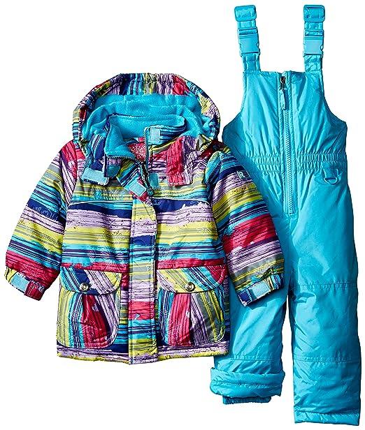 Amazon.com: Set de dos piezas de abrigo y traje de nieve ...