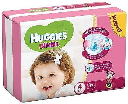 Huggies - Bimba - Pañales - Talla 4 (7-18 kg) - 17