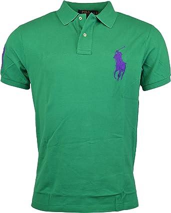 Polo Ralph Lauren – Hombre Custom Fit Big Pony – Malla Polo ...