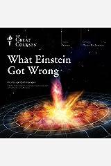 What Einstein Got Wrong Audible Audiobook