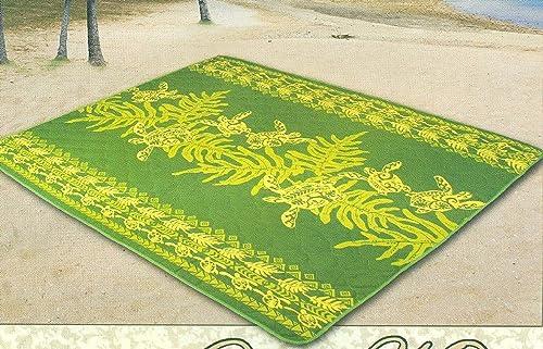 Kauhale Living Hawaiian Waterproof Indoor Outdoor Picnic Quilt Mat